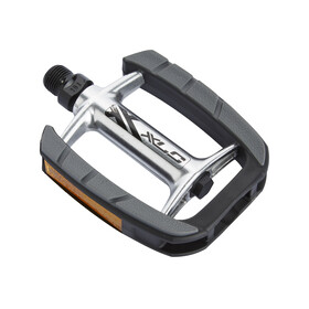XLC PD-C08 City-/Comfort Pedal silber/schwarz